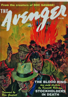 THE AVENGER #4: The Blood Ring / Stockholders in Death
