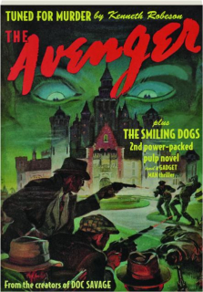 THE AVENGER #5: Tuned for Murder / The Smiling Dogs