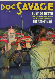 DOC SAVAGE #10: Dust of Death / The Stone Man