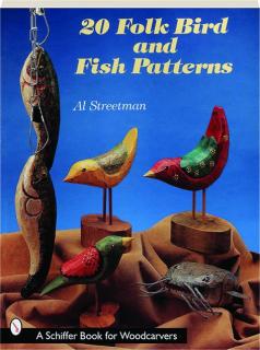 20 FOLK BIRD AND FISH PATTERNS