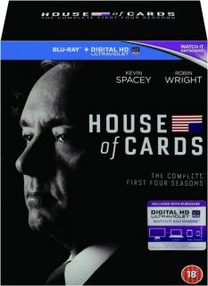 HOUSE OF CARDS: The Complete First Four Seasons