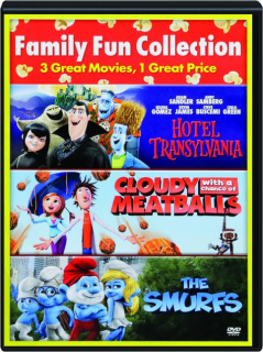HOTEL TRANSYLVANIA / CLOUDY WITH A CHANCE OF MEATBALLS / THE SMURFS: Family Fun Collection
