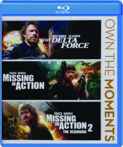 THE DELTA FORCE / MISSING IN ACTION / MISSING IN ACTION 2: The Beginning