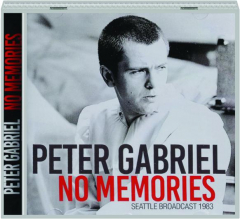 PETER GABRIEL: No Memories