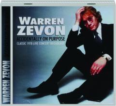 WARREN ZEVON: Accidentally on Purpose