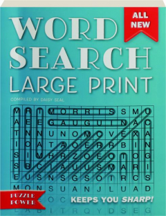 WORD SEARCH LARGE PRINT: Puzzle Power