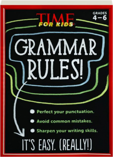 <I>TIME</I> FOR KIDS GRAMMAR RULES! GRADES 4-6