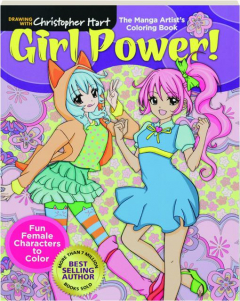 GIRL POWER! The Manga Artist's Coloring Book