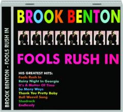 BROOK BENTON: Fools Rush In
