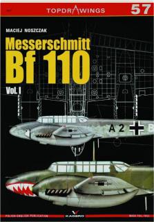 MESSERSCHMITT BF 110, VOL. I: TopDrawings 57