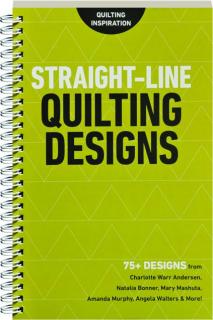 STRAIGHT-LINE QUILTING DESIGNS