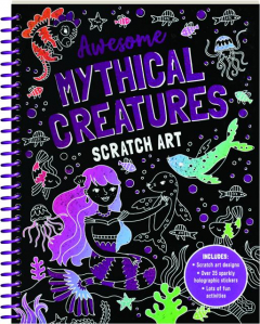 AWESOME MYTHICAL CREATURES SCRATCH ART