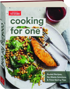 AMERICA'S TEST KITCHEN COOKING FOR ONE