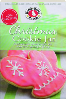 GOOSEBERRY PATCH CHRISTMAS COOKIE JAR