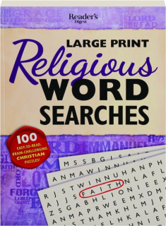 <I>READER'S DIGEST</I> LARGE PRINT RELIGIOUS WORD SEARCHES