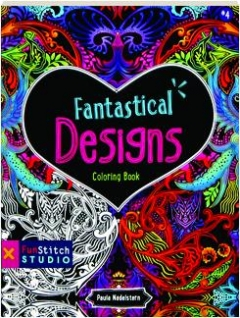 FANTASTICAL DESIGNS COLORING BOOK #4