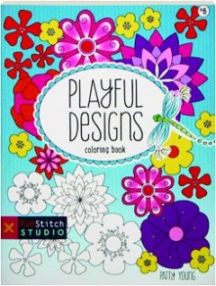 PLAYFUL DESIGNS COLORING BOOK #6