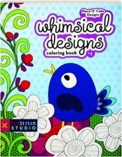 WHIMSICAL DESIGNS COLORING BOOK #1