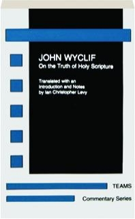 ON THE TRUTH OF HOLY SCRIPTURE
