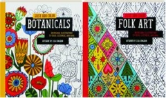 BOTANICALS / FOLK ART: Just Add Color