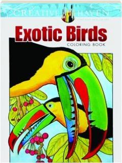 EXOTIC BIRDS COLORING BOOK