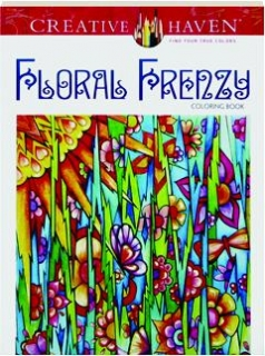FLORAL FRENZY COLORING BOOK