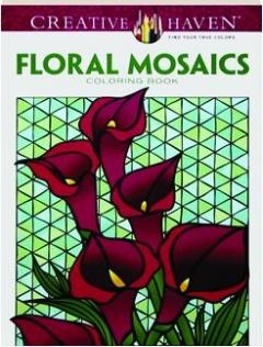 FLORAL MOSAICS COLORING BOOK
