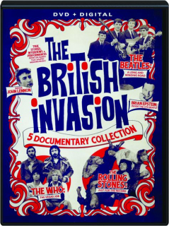 THE BRITISH INVASION: 5 Documentary Collection