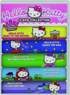 HELLO KITTY 5-DVD COLLECTION