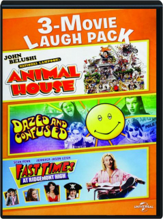 NATIONAL LAMPOON'S ANIMAL HOUSE / DAZED AND CONFUSED / FAST TIMES AT RIDGEMONT HIGH