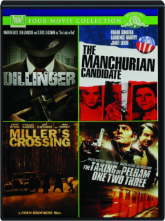 DILLINGER / THE MANCHURIAN CANDIDATE / MILLER'S CROSSING / THE TAKING OF PELHAM ONE TWO THREE