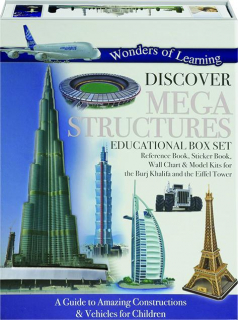 WONDERS OF LEARNING DISCOVER MEGA STRUCTURES EDUCATIONAL BOX SET