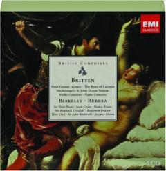 BRITTEN: British Composers