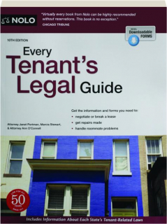 EVERY TENANT'S LEGAL GUIDE, 10TH EDITION