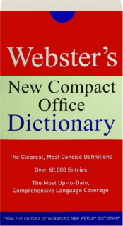 WEBSTER'S NEW COMPACT OFFICE DICTIONARY