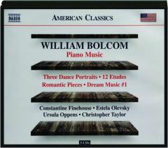 WILLIAM BOLCOM: Piano Music