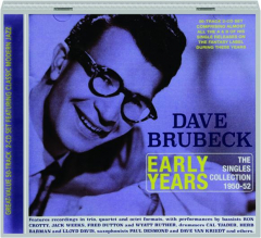 DAVE BRUBECK Early Years: The Singles Collection 1950-52