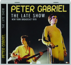 PETER GABRIEL: The Late Show