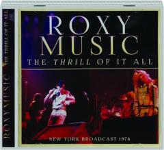 ROXY MUSIC: The Thrill of It All