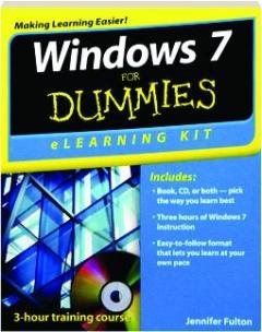 WINDOWS 7 FOR DUMMIES ELEARNING KIT