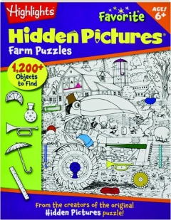 FARM PUZZLES: Highlights Favorite Hidden Pictures