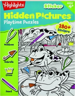 PLAYTIME PUZZLES: Highlights Sticker Hidden Pictures