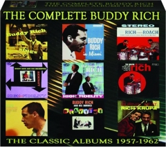 THE COMPLETE BUDDY RICH: The Classic Albums 1957-1962