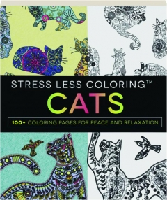 STRESS LESS COLORING CATS