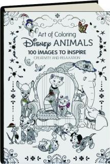 DISNEY ANIMALS: Art of Coloring