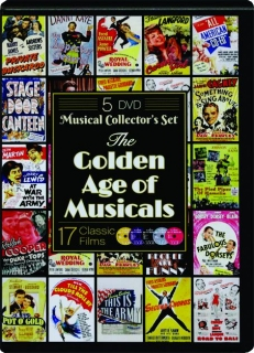 THE GOLDEN AGE OF MUSICALS: 17 Classic Films