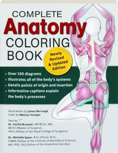 COMPLETE ANATOMY COLORING BOOK, REVISED EDITION