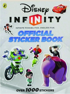 DISNEY INFINITY OFFICIAL STICKER BOOK
