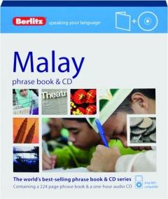 BERLITZ MALAY PHRASE BOOK & CD