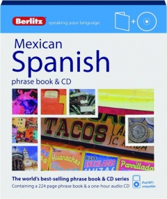 BERLITZ MEXICAN SPANISH PHRASE BOOK & CD